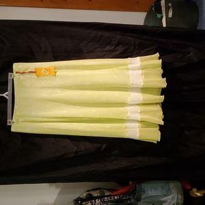 Ruby Road yellow skirt
